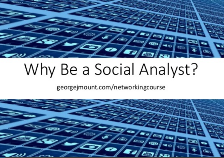 Why Be a Social Analyst?